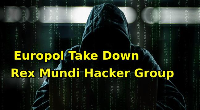 Rex Mundi  - rex - Europol Take Down the Oldest Rex Mundi Hacker Group
