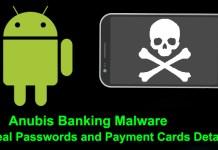 Anubis banking malware