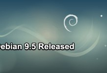 Debian 9.5 Released