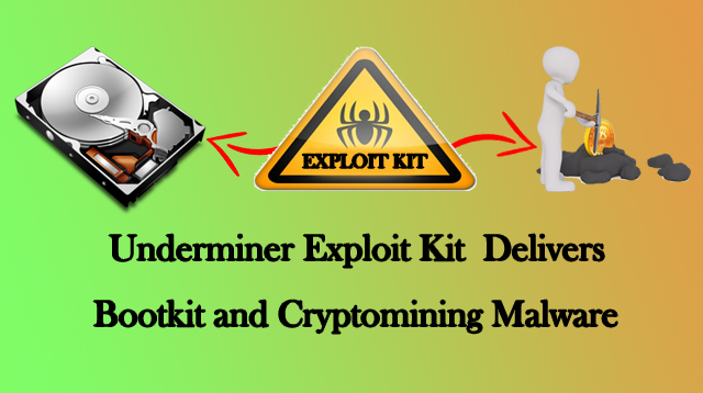 Underminer  - Underminer - Dangerous Underminer Exploit Kit Delivers a Cryptocurrency-mining Malware and Bootkit