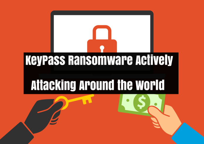 KeyPass Ransomware  - 3jLVY1534710824 - KeyPass Ransomware Attack Around the World To Encrypt the Victims File