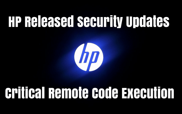HP Released Security Updates