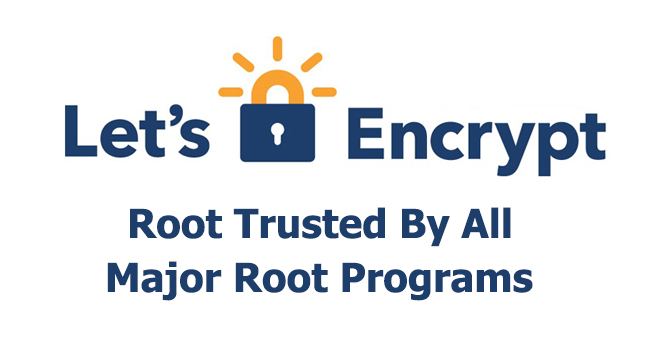 Let's Encrypt Root Certificate Now Directly Trusted by Microsoft