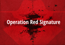 Operation Red Signature