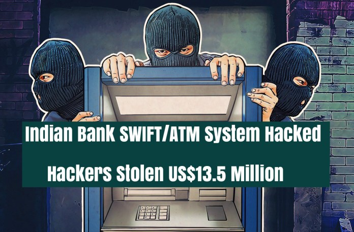 SWIFT/ATM Attack  - SrpLn1535441267 - Indian Bank ATM/SWIFT System Hacked