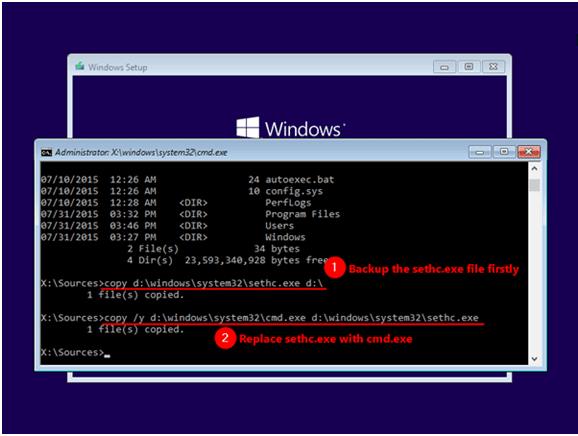 Как сбросить пароль Windows для администратора и входа - Windows 10 / 8 / 7