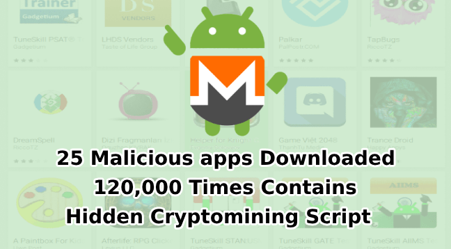 25 Malicious apps