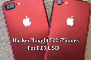 500 iPhones