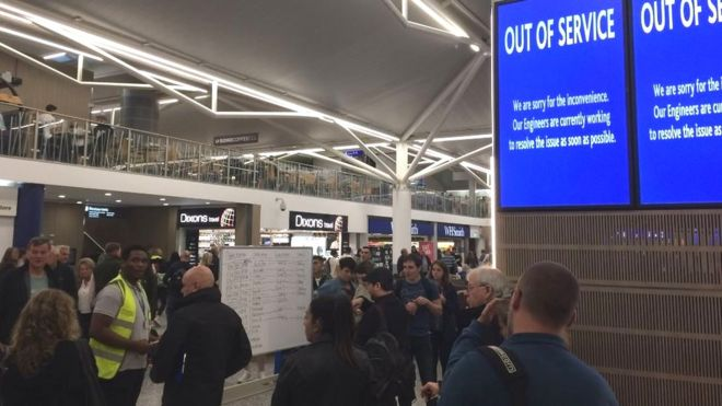 - Birstol Airport1 - Ransomware Attack Hits Bristol Airport, Display Screens Went Offline