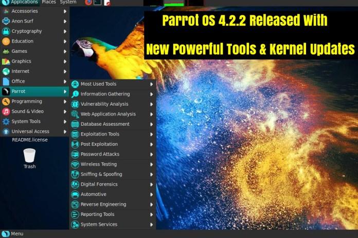 Parrot Security OS 4.2.2