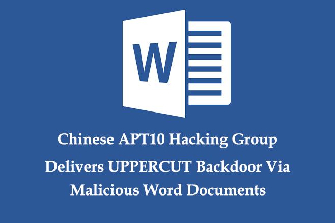 - UPPERCUT Backdoor - Chinese Hacking Group Delivers UPPERCUT Backdoor