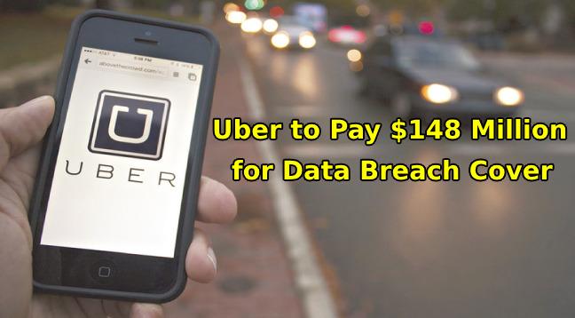 Uber data breach  - Uber data breach - Uber to Pay $148 Million as a Settlement for Data Breach Cover