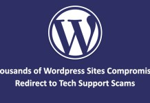 thousands of Wordpress Sites