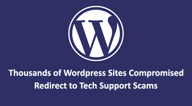 thousands of Wordpress Sites