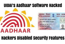 Aadhaar Software Hacked