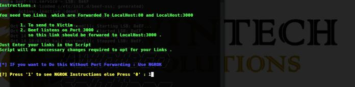 - 2 - Browser Exploitation Framework Over Wan (Without Port Forwarding)