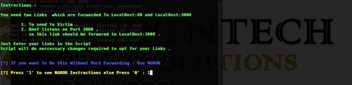 BeEF – Browser Exploitation Framework Over WPN (Without Port