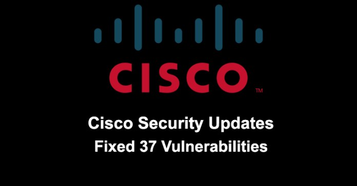 Cisco released security updates  - CISCO Security Updates - Cisco Released Security Updates & Fixed 37 Vulnerabilities
