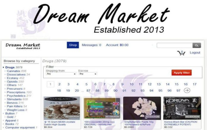 - Dream Market URL Darknet Review 808x510 - Dark web marketplace drug dealer Sentenced 20 Years in Prison