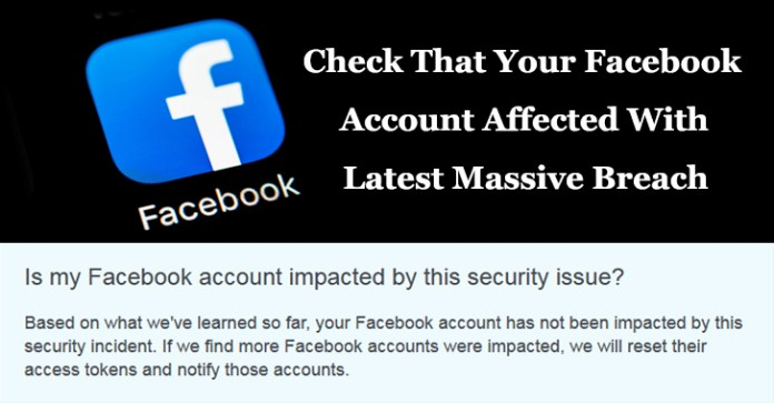 Facebook Account Affected  - Facebook Account Affected1 - Here is How to Find that Your Facebook Account Affected