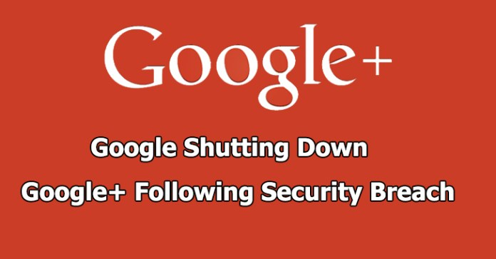 Google+ Shut down