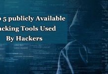 Publicly Available Hacking Tools