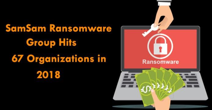SamSam ransomware campaigns  - SamSam ransomware campaigns - SamSam Ransomware Campaigns Heavily Targets Organizations