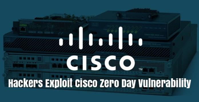 Cisco Zero Day  - Cisco ASA - Cisco Zero Day Vulnerability in Wild Resulting in DoS Condition