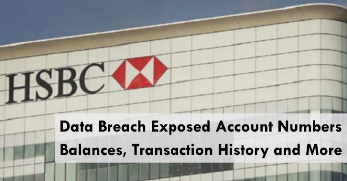 HSBC Bank  - HSBC Bank - HSBC Bank Data Breach Exposed Account numbers, Balances and More