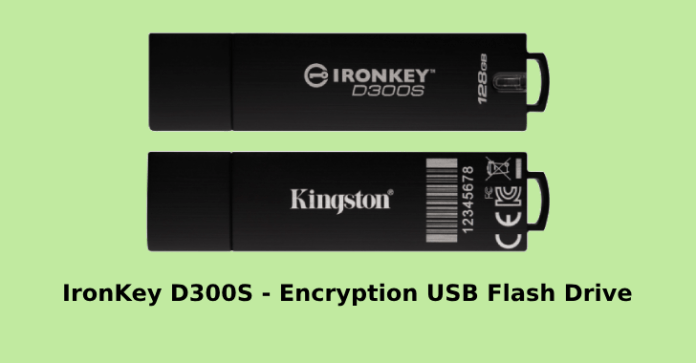 IronKey D300  - IronKey D300 - Kingston IronKey D300 256-bit AES Hardware-based Encryption USB