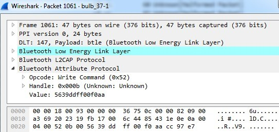 - WiresharePacket - Hackers Can Exfiltrate the Sensitive Data using Smart Bulbs Lights