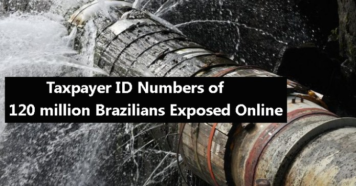 120 million  - 120 million - 120 Million Unique Taxpayer ID Numbers Exposed Online