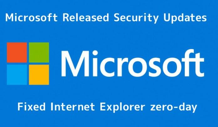 Internet Explorer  - Y6fW11545292637 - Microsoft Released Security Updates for Internet Explorer zero-day