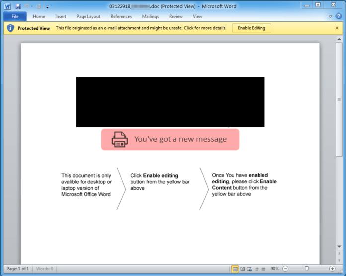 - t1 - TA505 Threat Actors Installing Remote Monitoring Tool via MS Word Doc