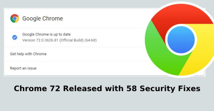 Chrome 72