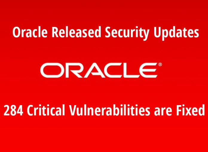 - JODc21547651388 - Oracle Released Security Updates – 284 Vulnerabilities are Fixed
