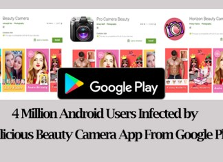malicious beauty camera apps