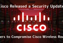 Cisco Released Security Updates