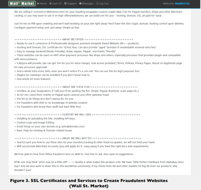 SSL/TLS certificates  - Adds3 - Hackers Purchasing Abused SSL/TLS certificates From Dark Web Markets
