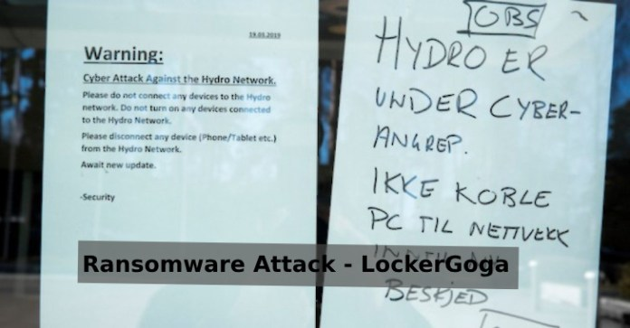 Extensive Ransomware Attack  - Extensive Ransomware Attack - Extensive Ransomware Attack Hits Operation at Norsk Hydro