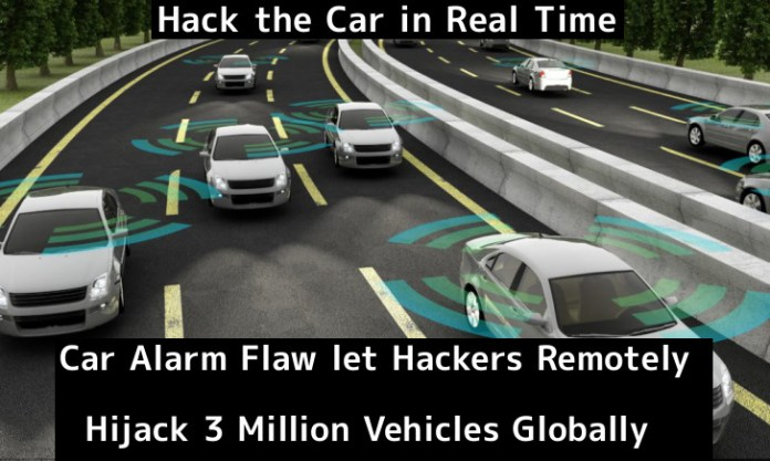 car alarm  - NBAzV1552307499 - Car Alarm Flaw let Hackers Remotely Hijack 3 Million Vehicles Globally