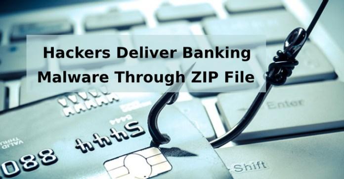 ZIp  - ZIp - Hackers Deliver Banking Malware Through ZIP File's