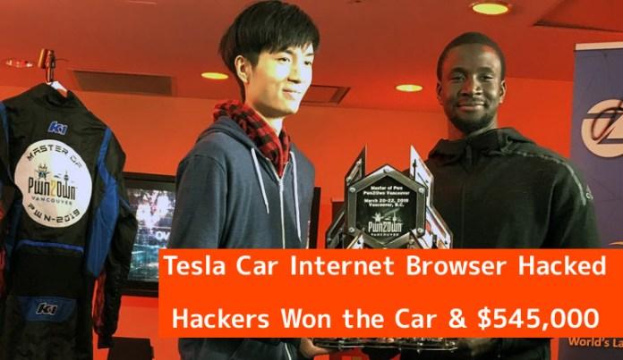 - e5lih1553361391 - Pwn2Own 2019 – Tesla Car Internet Browser Hacked