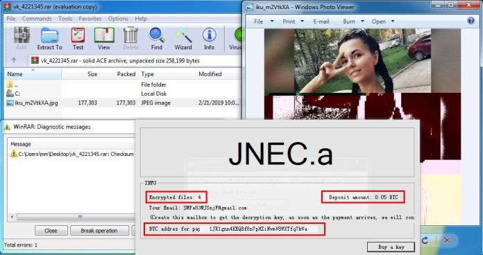 - note - Hackers Launching New JNEC.a Ransomware via WinRAR Exploits