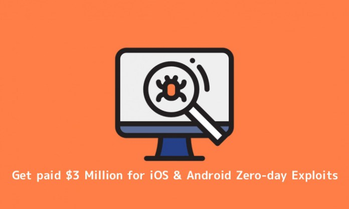 - x0Wvl1552407617 - Crowdfense Willing to Pay $3 Million for iOS & Android Zero-day Exploits