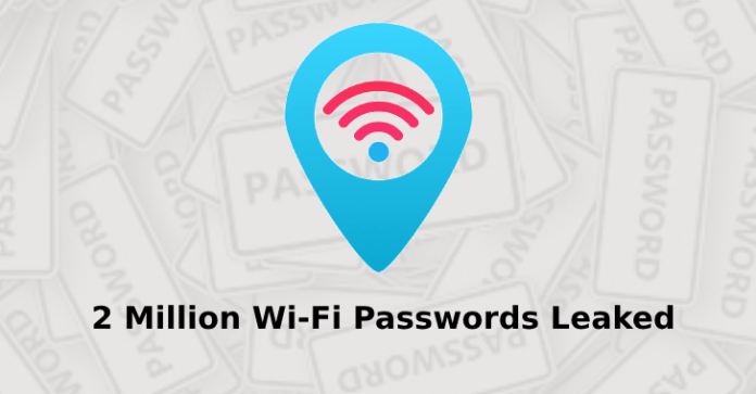Wi-Fi Passwords  - Wi Fi Passwords - 2 Million Wi-Fi Passwords Exposed Through Wi-Fi Hotspot Finder App