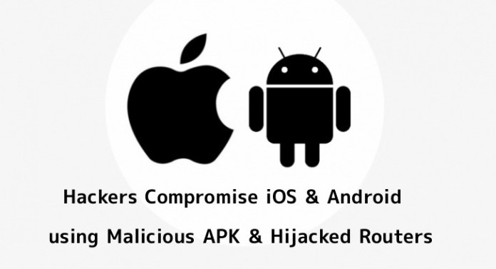 - ZeidW1554357366 - Hackers Compromise iOS & Android Devices by Launch Malicious APK